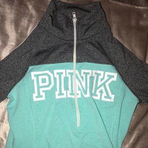 PINK half-zip